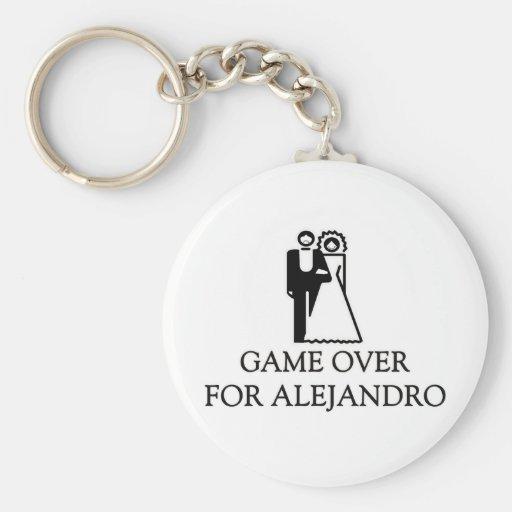 Juego encima para Alejandro Llavero