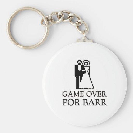 Juego encima para Barr Llavero Personalizado