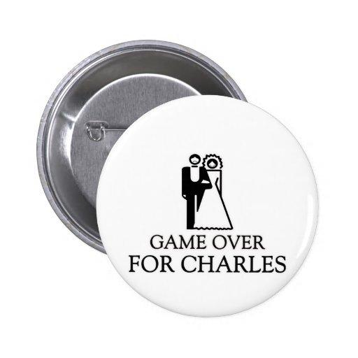 Juego encima para Charles Pin
