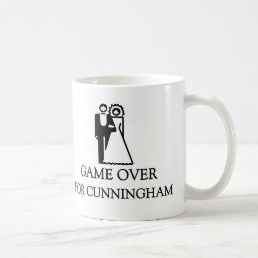 Juego encima para Cunningham Taza De Café