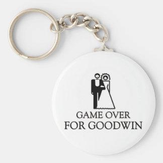 Juego encima para Goodwin Llavero Redondo Tipo Pin