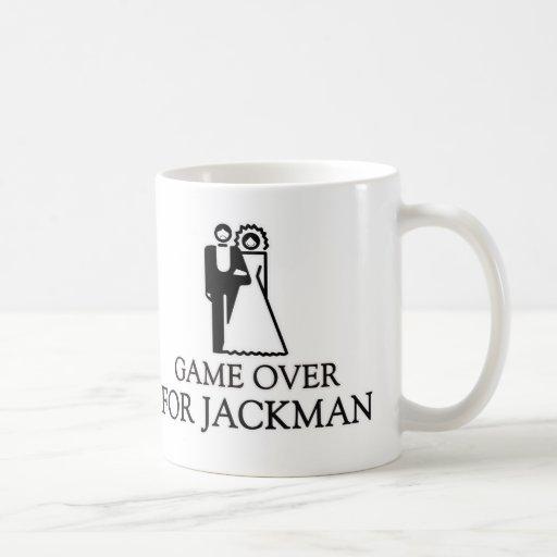 Juego encima para Jackman Taza Básica Blanca