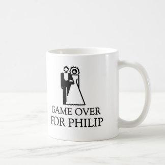 Juego encima para Philip Taza