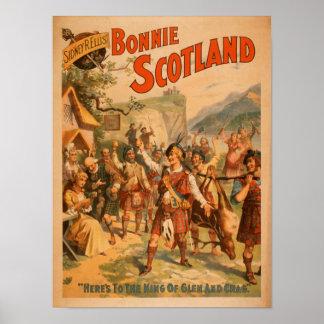 Juego escocés 2 de Bonnie Escocia de Sidney R. Ell Póster