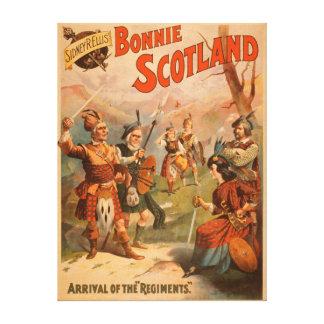 Juego escocés 4 de Bonnie Escocia de Sidney R. Ell Impresiones En Lona