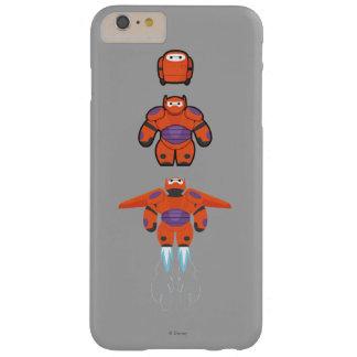 Juego estupendo anaranjado de Baymax Funda De iPhone 6 Plus Barely There