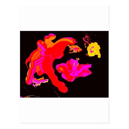 Juego Hybiscus 2 del arte los regalos de Zazzle Postales
