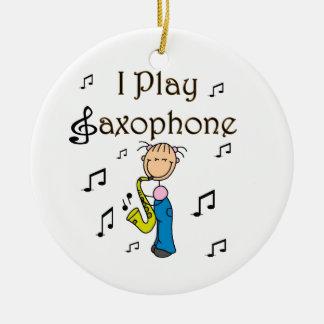 Juego la figura camisetas y regalos del palillo de ornamento para arbol de navidad