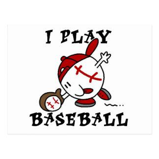 Juego las camisetas y los regalos del béisbol postal