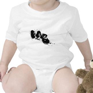 Juego lindo del bebé de la cucaracha trajes de bebé