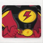 Juego Mousepad del super héroe Tapete De Ratones