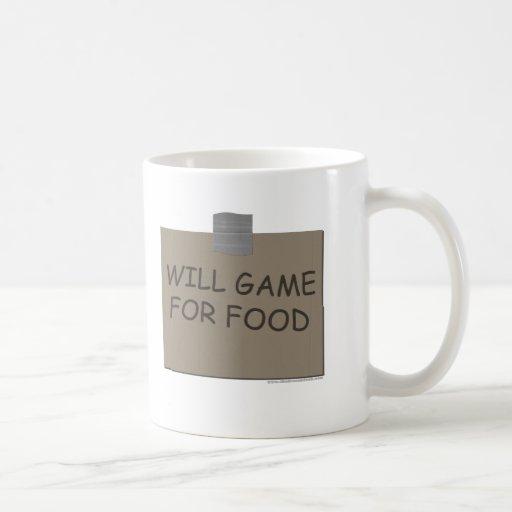Juego para la comida taza