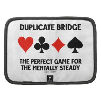Juego perfecto del puente duplicado para planificador