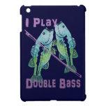 Juego pescados del bajo doble iPad mini fundas