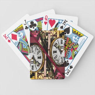 """juego póquer """"reloj """" cartas de juego"""