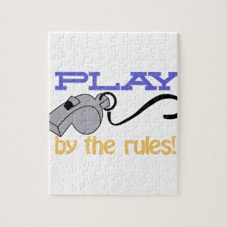 Juego por reglas rompecabeza con fotos