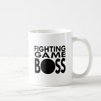 Juego que lucha Boss Taza