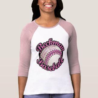 Juego rosado anual de la cinta del béisbol de camiseta