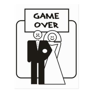 Juego sobre boda postal
