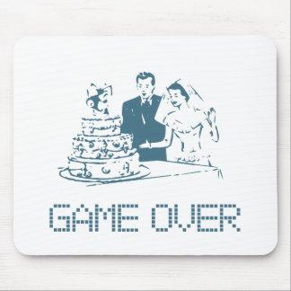 Juego sobre (boda) tapetes de ratón