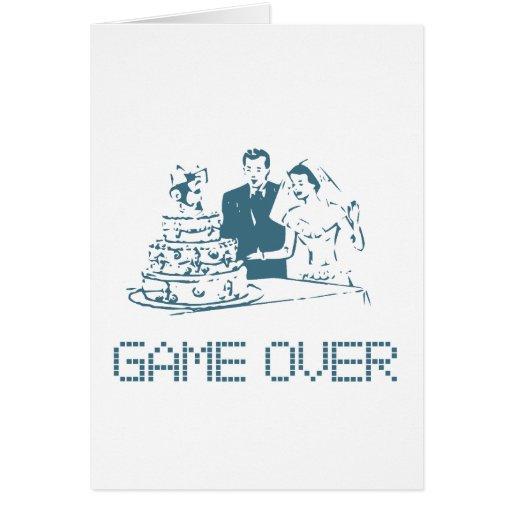 Juego sobre (boda) tarjeta de felicitación