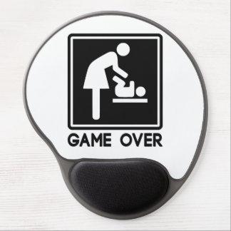 Juego sobre el nuevo bebé para la mamá del padre alfombrilla para ratón de gel