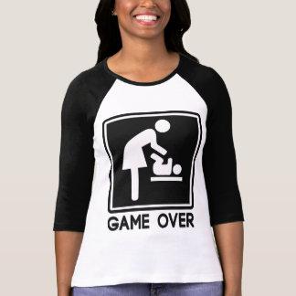 Juego sobre el nuevo bebé para la mamá del padre camisetas