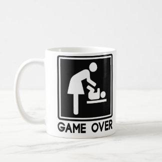 Juego sobre el nuevo bebé para la mamá del padre tazas de café