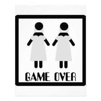 juego sobre icono lesbiano de los pares membrete