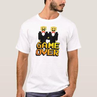 """""""Juego sobre"""" la boda (gay, de 8 bits) Playera"""