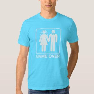 Juego sobre la camisa del novio - turquesa