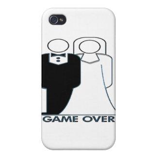Juego sobre pares de la boda del boda iPhone 4 protectores