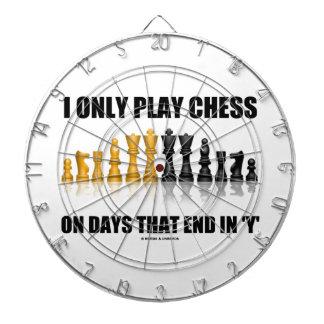 Juego solamente a ajedrez el los días que terminan