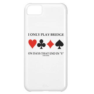 Juego solamente el puente el los días que terminan funda para iPhone 5C