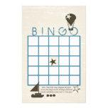 Juego suave de la ducha del bingo de las velas papeleria personalizada