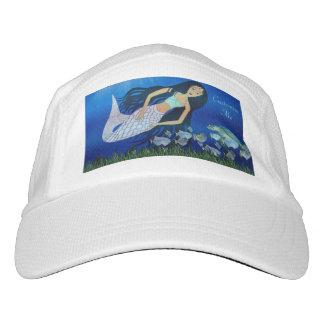 Juego subacuático (sirena) gorra de alto rendimiento