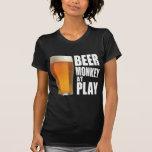 Juego W del mono de la cerveza Camisetas