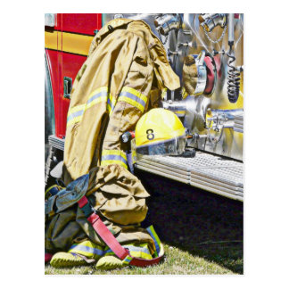 Juego y camión contraincendios del bombero postal