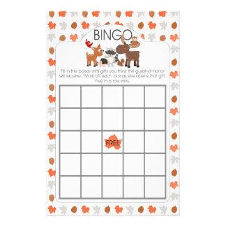 """Juegos animales del bingo y del monedero de la folleto 5.5"""" x 8.5"""""""