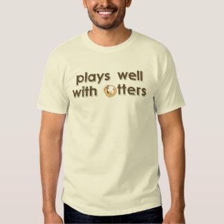 juegos bien con las nutrias playera