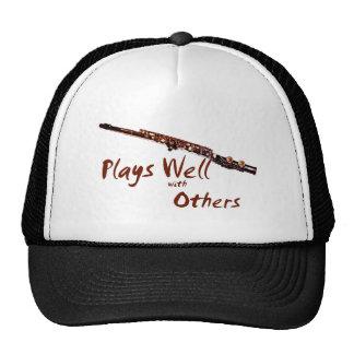 Juegos bien con otros/flauta gorras de camionero