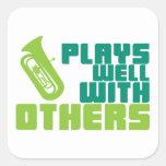 Juegos bien con otros - tuba colcomania cuadrada