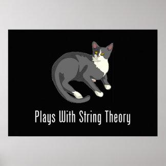 ¡Juegos con la teoría de la secuencia - maullido! Póster