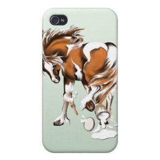 Juegos con las pinturas iPhone 4 carcasas