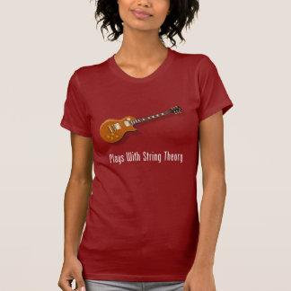 Juegos con teoría de la secuencia - guitarra camiseta