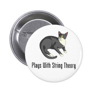 Juegos con teoría de la secuencia pin redondo de 2 pulgadas