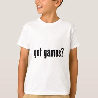 ¿juegos conseguidos? playera