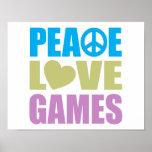 Juegos de amor de la paz poster