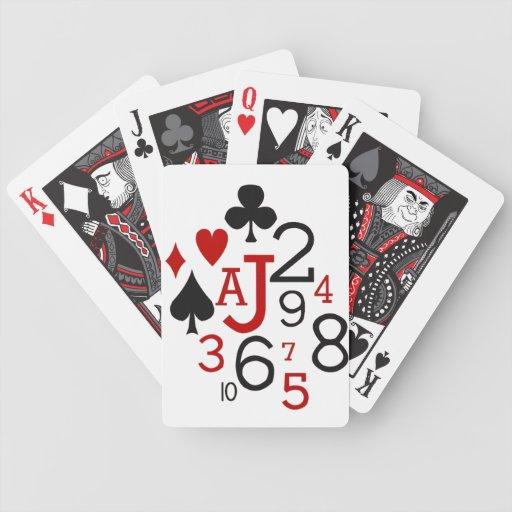 Juegos de conexión en cascada de la tarjeta del pa baraja