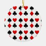 Juegos de juego de las tarjetas adorno de reyes